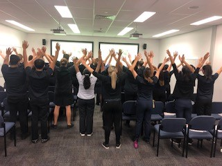 3rd Year Nursing Students Redcliffe Hospital